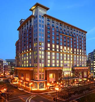 The Westin Alexandria, location of the March Classroom Patent Bar Review.